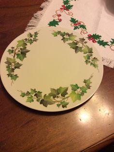 Ivy cake plate by Angela Davies
