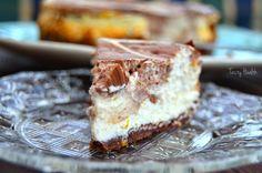 Tasty Health: Orange protein cheesecake with chocolate swirls