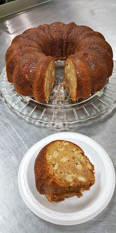 Apple Cider Bundt Cake #BundtBakers