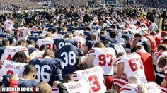 Huskers and Penn State share the power of prayer.