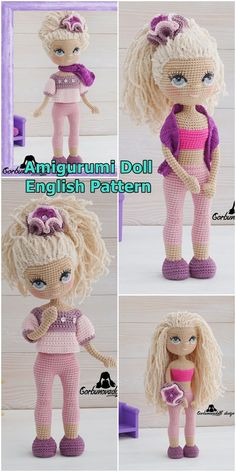 Free Amigurumi Crochet Doll Pattern and Design ideas – Page 8 of 37 – Daily Crochet! Free Amigurumi Crochet Doll Pattern and Design ideas – Page 8 of 37 – Daily Crochet!Free cute amigurumi patterns 25 amazing crochet ideas for beginners to make ea Crochet Amigurumi Free Patterns, Crochet Toys, Free Crochet, Crochet Doll Tutorial, Crochet Doll Pattern, Crochet Elephant, Stuffed Toys Patterns, Amigurumi Doll, Balcony Curtains
