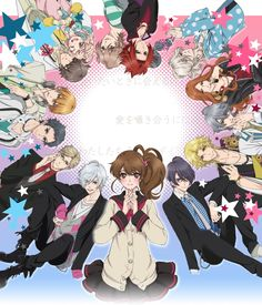 Brothers Conflict is one of the most romantic reverse harem anime ever, which focuses on the life of Ema Hinata who faces a complicated love problems with the Asahina brothers. Description from myanimelist.net. I searched for this on bing.com/images