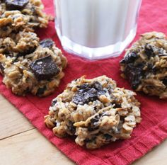 Gluten Free, Sugar Free, Peanut Free, Guilt Free cookies... I would give it a try!