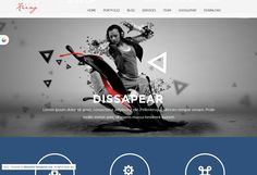 A one page portfolio joomla template. It can be used for creative digital agent to show portfolio and selling services. Its build based on twitter bootstrap ,so it has powerfull features.