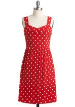 Berry Much In Love Dress