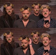 One Direction 2015 || 1d in the snapchat filter, why do i love this so much?!