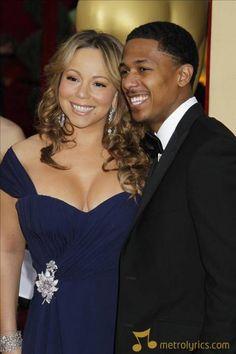 Mariah Carey and Nick Cannon Nick And Mariah, Mariah Carey, Hollywood Couples, Celebrity Couples, Famous Couples, Couples In Love, Nick Cannon, Perfect Couple, Bridesmaid Dresses