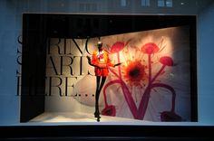 Lord & Taylor Spring windows, New York visual merchandising