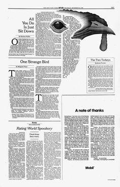 New York Times Op-Ed 1992-1993 | Mirko Ilić