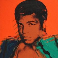Muhammad Ali, par Andy Warhol
