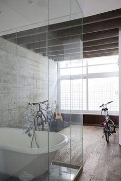Bathroom Ideas - 21 Black White and Grey Bathrooms  | designlibrary.com.au