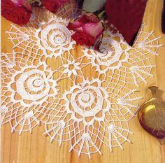 napperon rose  - travaux-manuels3.overblog.com