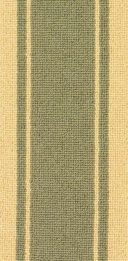 "Beige on Green ""Linx"" carpet border"
