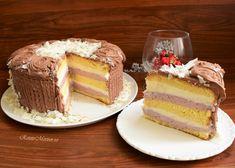 Food Cakes, Vanilla Cake, Nutella, Tiramisu, Cake Recipes, Cheesecake, Food And Drink, Ice Cream, Pudding