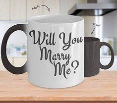 Marry Me Mug Color Changing Mug Marriage Proposal Proposal