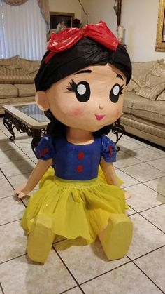 Piñata de Blanca nieves - snow white