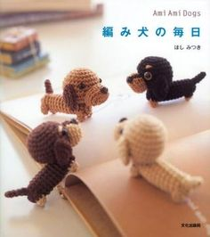 Japanese Magazine full of amigurumi dog patterns. Not in English but is full of pictures!