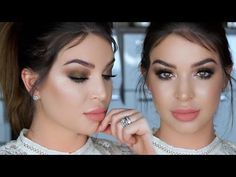 GRWM ❤ Date Night | Radiant olive nude glam - YouTube