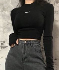 coffee date outfit Teen Fashion Outfits, Edgy Outfits, Mode Outfits, Retro Outfits, Korean Outfits, Grunge Outfits, Look Fashion, Korean Fashion, Fall Outfits