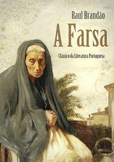 """Capa do livro """"A Farsa"""" de Raul Brandão."""