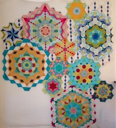 Periwinkle Quilting and Beyond The New Hexagon Millefiore Quilt-Along