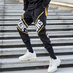 On sale now dressy mens fashion Sport Fashion, Fashion Pants, Mens Fashion, Fashion Outfits, Mens Jogger Pants, Mens Sweatpants, Hipster Outfits, Smoking, Street Wear