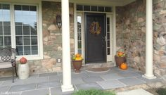 Simple Fall Front porch - Puddy's House
