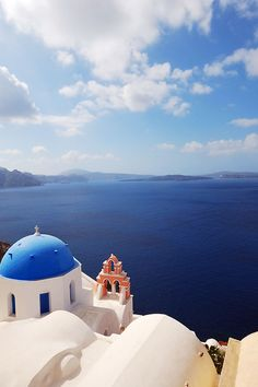 Amazing view from Oia, Santorini