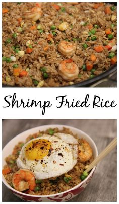 Shrimp Fried Rice : Cooked by Julie
