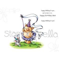 Китти и МАУСИ отпраздновать день рождения (включает 2 марки)