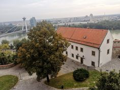 Bratislava, Cabin, Mansions, House Styles, Home Decor, Decoration Home, Manor Houses, Room Decor, Cabins