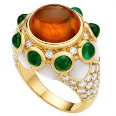 Bulgari --- i love the colors, but bulgari is always way too gaudy for me. /too/ ornamented. if that makes sense.
