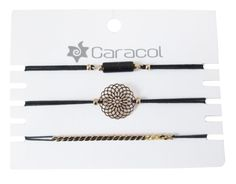CARACOL ENSEMBLE 3 BRACELETS DORÉ Bracelets, Bobby Pins, Hair Accessories, Beauty, Snails, Hairpin, Hair Accessory, Hair Pins, Bracelet