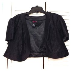 Sheer black cardigan Great for dresses. In great condition. torrid Sweaters Cardigans