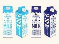 Anusmilk Milk Packaging Design #milk #milkpackaging #milkproducts #packagingdesign