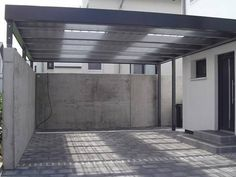 Carports are the easiest way to protect our vehicles from the hot sun and rain,when there is no parking area or a garage. In such cases carports are more than suitable and many people choose that. Design Garage, Carport Designs, Pergola Designs, House Design, Pergola Ideas, Diy Pergola, Pergola Kits, Carport Modern, Double Carport