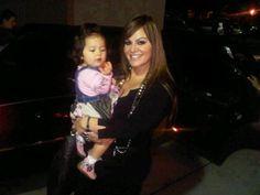 La Diva Jenni Rivera y su nieta Jaylah Hope, hija de Jacqueline, Jenni siempre es feliz cuando esta con su nieta, y Jaylah es feliz cuando esta con su Wela :-)