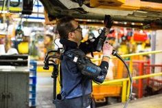 Ford tests exoskeleton to ease strain on factory workers