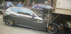 Ferrari FF Crash
