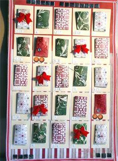 Scrapping by Design » Blog Archive » Hand Made Advent Calendars or ...
