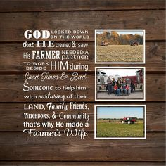 109 Best So God Made A Farmer Images In 2019 Wooden Plaques Wood