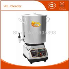 780.00$  Watch here - http://alis2q.worldwells.pw/go.php?t=32310272786 - 20L Stainless steel big capacity soybean milk machine Strong commercial blender 780.00$