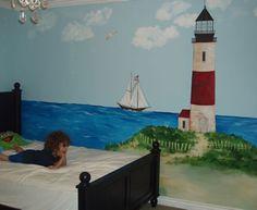 Lighthouse Mural wall murals childrens murals