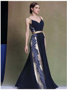 双肩 Vネック着心地最高の上品ロングドレス イブニングドレス
