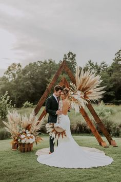 Rustic Boho Wedding, Wedding Altars, Boho Wedding Decorations, Floral Wedding, Wedding Colors, Rustic Wedding Groomsmen, Copper Wedding, Boho Wedding Dress, Wedding Shoot