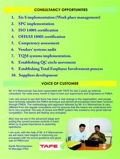 Consultancy Opportunities provided by Sri Padhmam Consultancy & Training.
