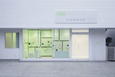 A whole interior design in mint, for SUMIYOSHIDO clinic in Japan