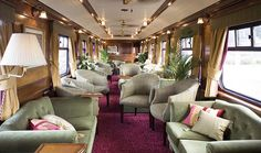 The Royal Scotsman is  a truly exclusive experience, with just 36 guests, ensuring maximum comfort, personal attention and space to stretch out and relax in sumptuous luxury.  The  rich interiors reflect an Edwardian feel, with elegant lounges and wonderfully comfortable suites.