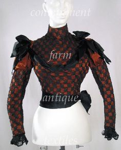 19th century clothing: 1890-1899