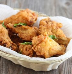 Golden Fried Chicken Wings | Kirbie's Cravings | A San Diego food blog